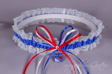 New York Rangers Lace Wedding Garter
