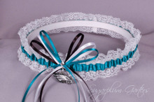 Philadelphia Eagles Lace Wedding Garter