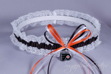 Philadelphia Flyers Lace Wedding Garter
