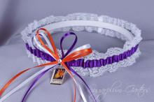 Phoenix Suns Lace Wedding Garter