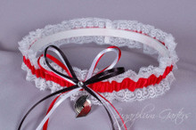 Portland Trail Blazers Lace Wedding Garter