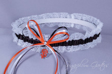 San Francisco Giants Lace Wedding Garter