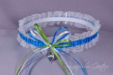 Seattle Sounders Lace Wedding Garter