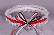 Tampa Bay Buccaneers Lace Wedding Garter