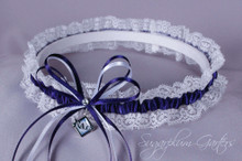 Tampa Bay Rays Lace Wedding Garter