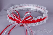 University of Arkansas Razorbacks Lace Wedding Garter