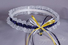 University of California, Berkeley Golden Bears Lace Wedding Garter