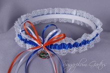 University of Florida Gators Lace Wedding Garter