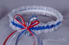 University of Kansas Jayhawks Lace Wedding Garter