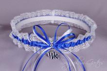 University of Kentucky Wildcats Lace Wedding Garter
