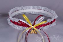 University of Minnesota Golden Gophers Lace Wedding Garter