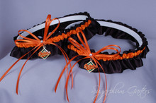 Baltimore Orioles Matching Wedding Garter Set