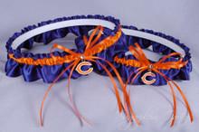 Chicago Bears Matching Wedding Garter Set