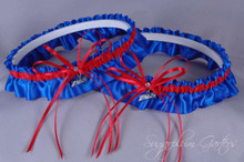 Gonzaga University Bulldogs Matching Wedding Garter Set