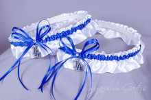 Los Angeles Dodgers Matching Wedding Garter Set