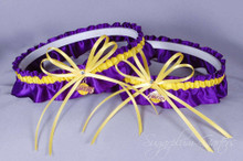 Los Angeles Lakers Matching Wedding Garter Set