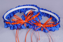 New York Mets Matching Wedding Garter Set