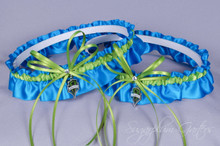 Seattle Sounders Matching Wedding Garter Set