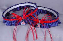 University of Arizona Wildcats Matching Wedding Garter Set