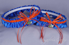 University of Florida Gators Matching Wedding Garter Set