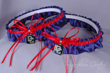Washington Nationals Matching Wedding Garter Set
