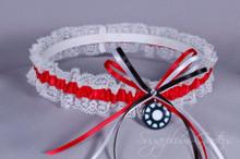 Iron Man Lace Wedding Garter