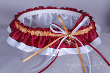 San Francisco 49ers Classic Wedding Garter