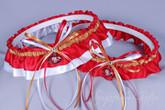 San Francisco 49ers Classic Wedding Garter Set