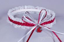 Washington State University Cougars Lace Wedding Garter