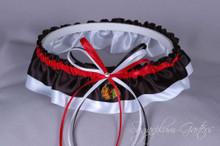Chicago Blackhawks Classic Wedding Garter