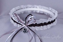 Los Angeles Kings Lace Wedding Garter