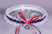 Winnipeg Jets Lace Wedding Garter