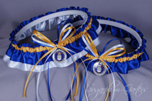 United States Air Force Wedding Garter Set