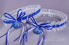 Doctor Who Tardis Lace Wedding Garter Set