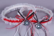 Iron Man Lace Wedding Garter Set