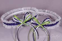 Custom NFL Lace Wedding Garter Set ~ Pick Your Team