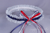 Washington Nationals Lace Wedding Garter