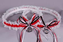 University of South Carolina Gamecocks Lace Wedding Garter Set