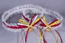 University of Minnesota Golden Gophers Lace Wedding Garter Set