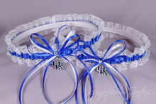 University of Kentucky Wildcats Lace Wedding Garter Set
