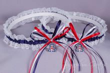 University of Arizona Wildcats Lace Wedding Garter Set