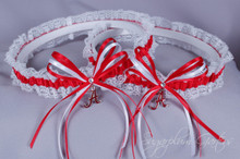 University of Alabama Crimson Tide Lace Wedding Garter Set