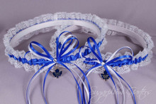 Toronto Maple Leafs Lace Wedding Garter Set