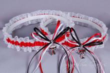 Texas Tech University Red Raiders Lace Wedding Garter Set