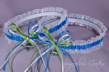 Seattle Sounders Lace Wedding Garter Set