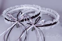 San Antonio Spurs Lace Wedding Garter Set