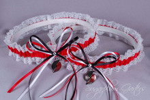 Portland Trail Blazers Lace Wedding Garter Set