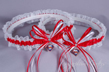 Philadelphia Phillies Lace Wedding Garter Set