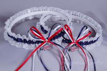 Minnesota Twins Lace Wedding Garter Set