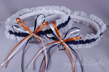 Milwaukee Brewers Lace Wedding Garter Set